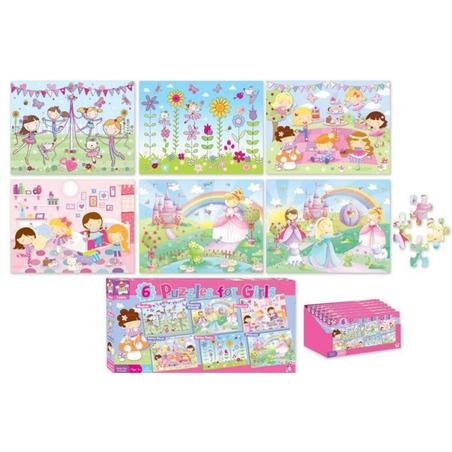Set 6 puzzle fetite-Kids Create