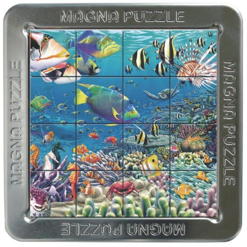 3D Puzzle magnetic Recif