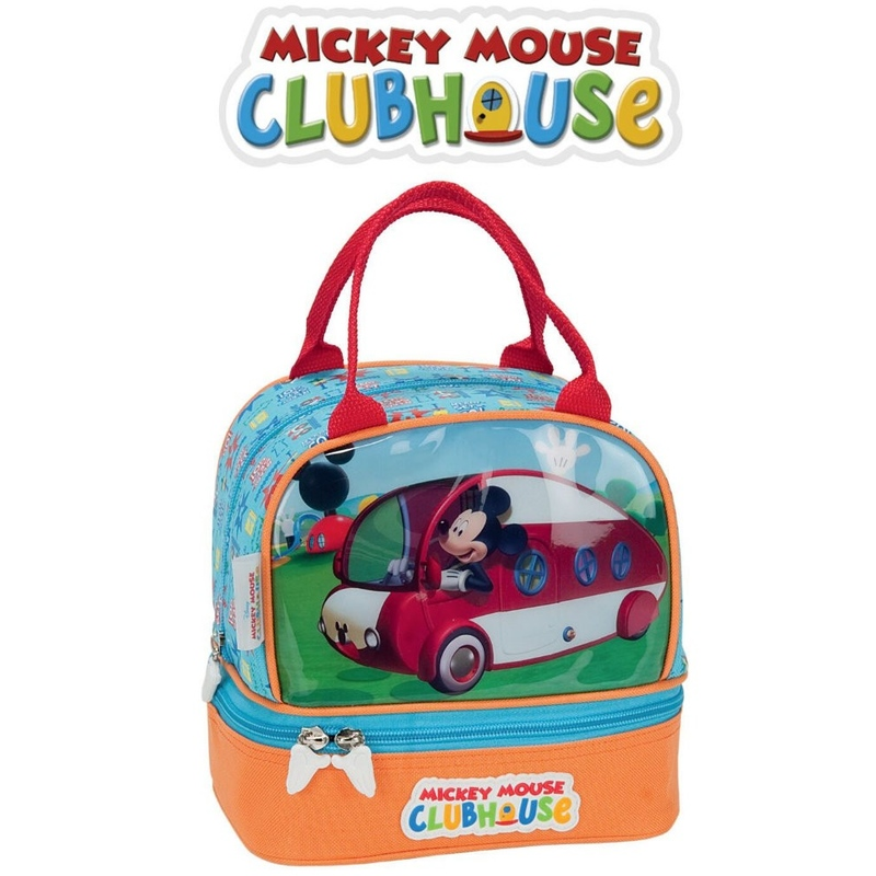 Geanta pranz MICKEY MOUSE CLUB HOUSE sofer