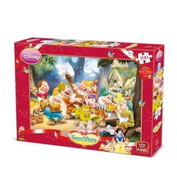 Puzzle Disney- 7 Pitici 100 piese