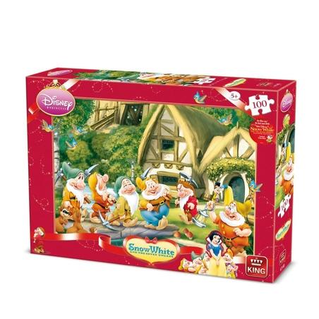 Puzzle Disney- 7 Pitici 100 piese