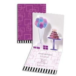 Balloons cake Felicitare aniversara- Baloane si tort- un cadou perfect pentru cei dragi.