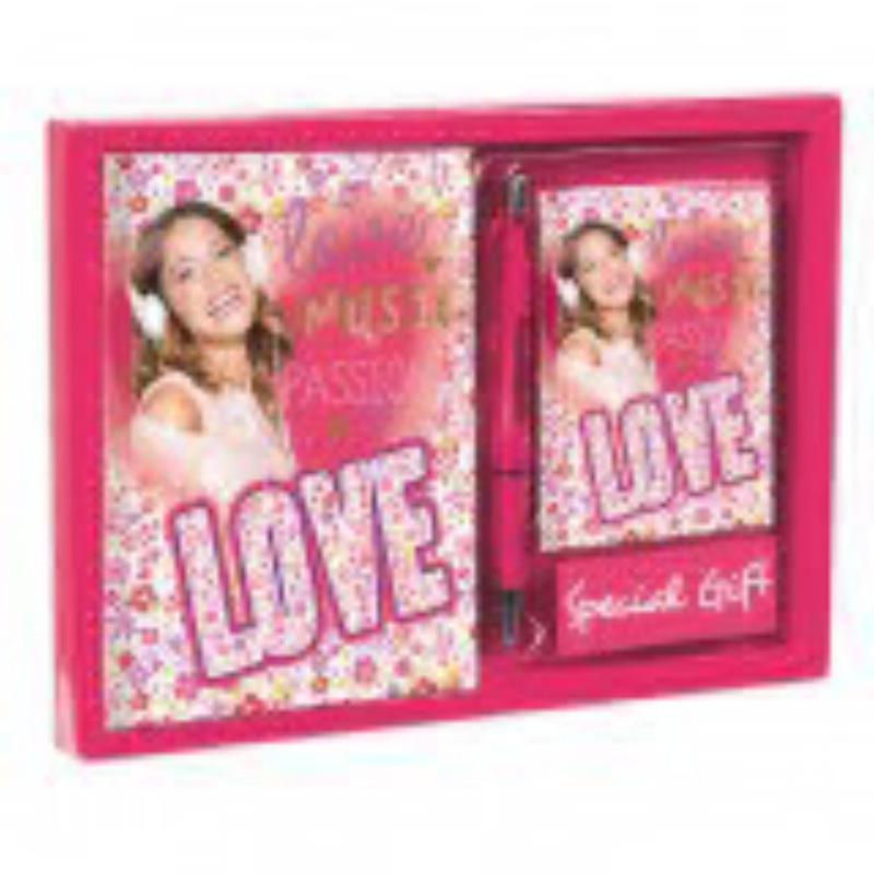 Set jurnal+carnetel+pix colectia Violeta Passion