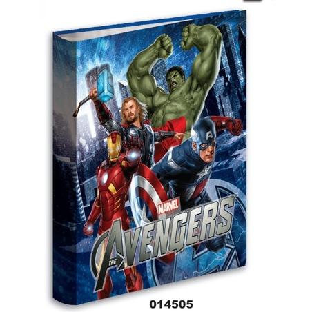 Caiet mecanic cu inele A4 colectia Avengers