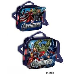 Geanta de umar termoizolanta cu magnet pentru gradinita colectia Avengers
