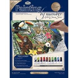 Pictura pe panza 28x36x25-Montaj Zoo