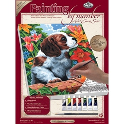 Pictura pe panza - Catelusi&Flori importator Jad Flamande