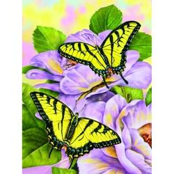 Prima mea pictura pe numere Fluturi Swallowtail