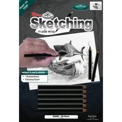 Set pentru realizarea unui desen in creion - Rechin