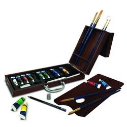 Trusa pictura culori acrilic