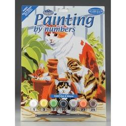 Prima mea pictura pe numere Pisici si pisicute