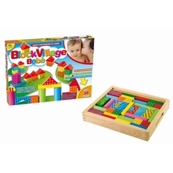 Jucarie lemn copii 38 piese