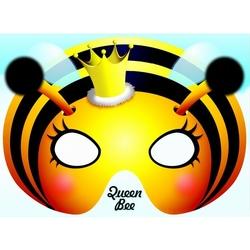 Felicitare cu masca-Regina albinelor