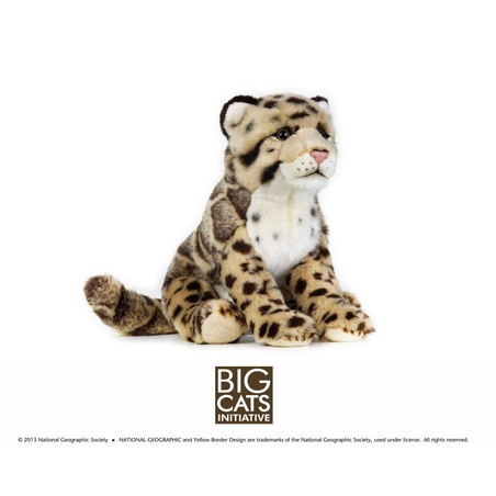 Jucarie din plus National Geographic Leopard 25 cm