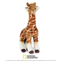 Jucarie din plus National Geographic Girafa 25 cm