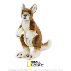 Jucarie din plus National Geographic Cangur 30 cm