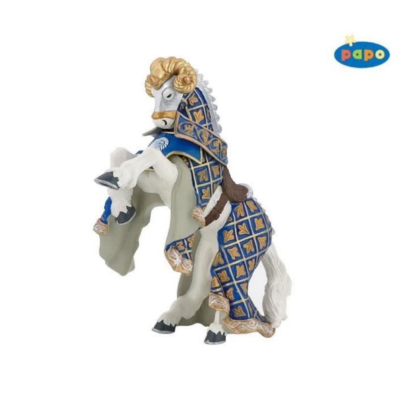 Calul cavalerului berbec - Figurina Papo
