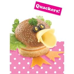 Felicitare amuzanta gastronomica-Rata
