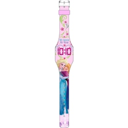 Ceas Frozen roz digital cu afisaj led