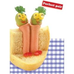Felicitare amuzanta gastronomica-Perechea perfecta