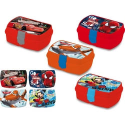 KE-Cutie sandwich Cars, Planes, Spiderman, Mickey