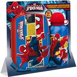 KE-Set Cutie de Sandwich PVC+Recipient apa Spiderman