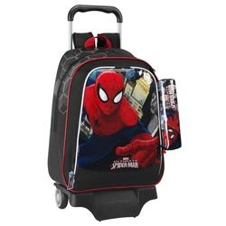 Ghiozdan Spiderman cu troler pentru scoala