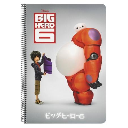 Caiet Big Hero6 cu spira A4
