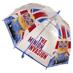 Umbrela transparenta 45 cm Minion Invasion
