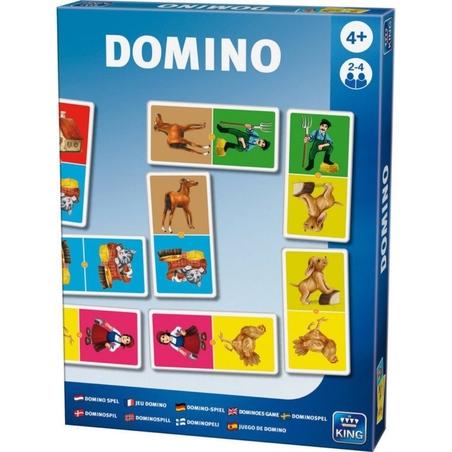 Puzzle joaca-te si invata Domino