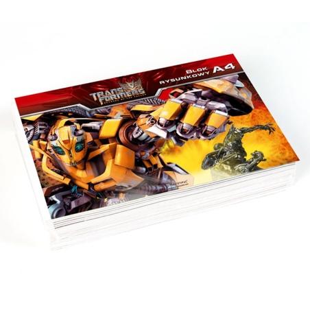 Caiet desen Transformers A4