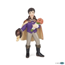 Print cu buchet - Figurina Papo