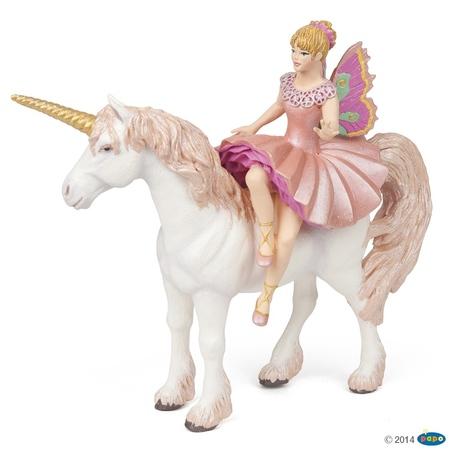 Figurina Papo - Balerina Elf si unicorn