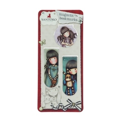 Semn de carte magnetic Gorjuss - Forget Me Not, Hush, Little Bunny