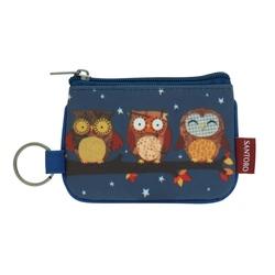 Eclectic portofel breloc Night Owls