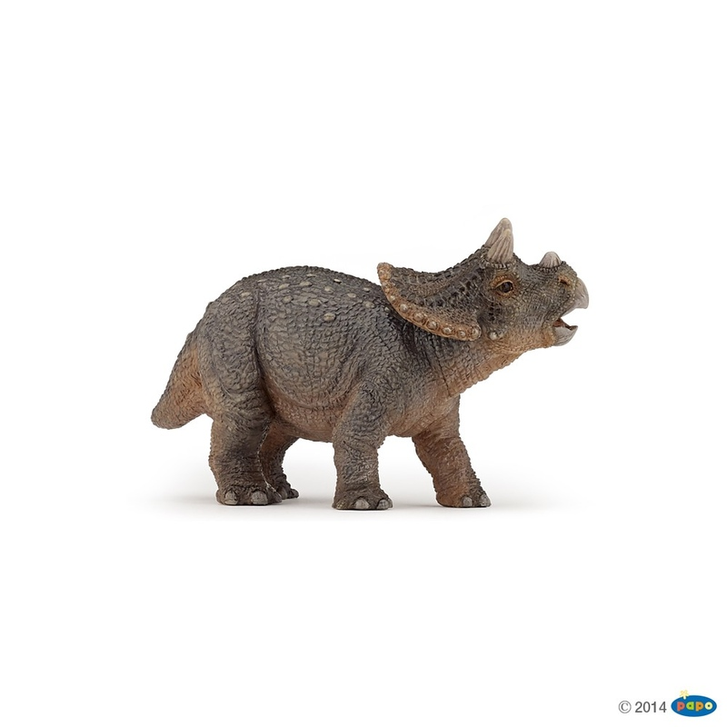 Figurina Papo - Dinozaur Triceratops tanar
