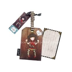 Eticheta card bagaj Gorjuss Ruby