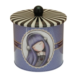 Cutie metalica pentru biscuiti Gorjuss Dear Alice