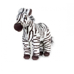 Jucarie din plus National Geographic Zebra 28 cm