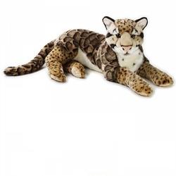 Jucarie din plus National Geographic Leopard de zapada 65 cm