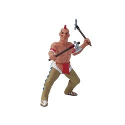 Figurina Papo-Indian cu topoare