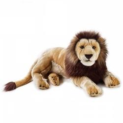 Jucarie din plus National Geographic Leu mare 65 cm