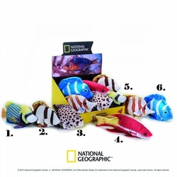 Jucarie din plus National Geographic Fluture 22cm