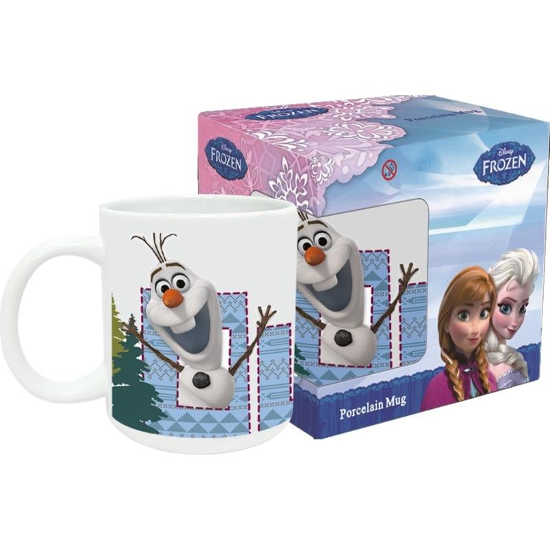 Prezentare Cana din portelan Frozen Olaf