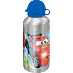 Recipient apa Cars 500 ml cu capac albastru