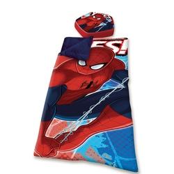 Sac de dormit cu perna Spiderman