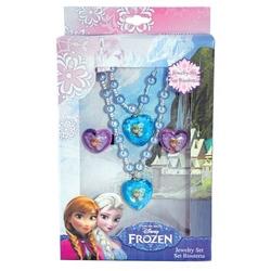 Set bijuterii (Colier, 2 inele, bratara) Frozen
