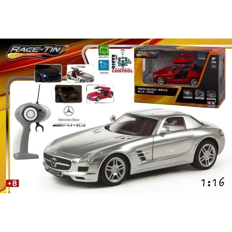 Masina Mercedes SLS AMG cu radiocomanda -scara 1:16