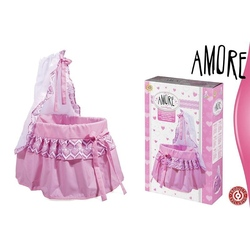 Patut pentru papusa bebelus roz