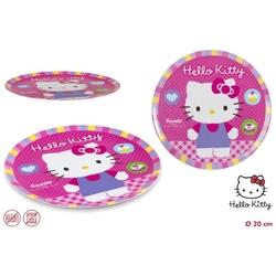 Farfurie melamina pentru copii Hello Kitty